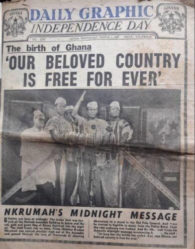 The Birth of Ghana