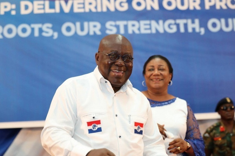Elections 2020: NPP acclaims Nana Addo as its flagbearer