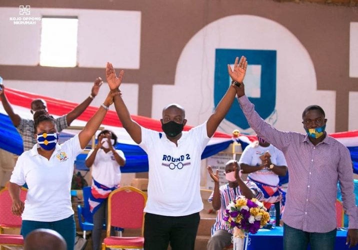 Ofoase Ayirebi NPP acclaims Oppong-Nkrumah as Parliament candidate