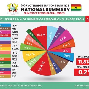 Ghanaians react to EC's latest Data with 'ERROR' on challenged applicants nationwide