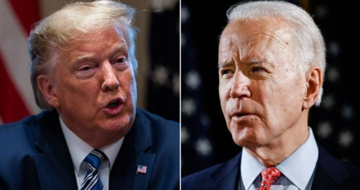 President Donald Trump and Democratic presidential candidate former Vice President Joe Biden