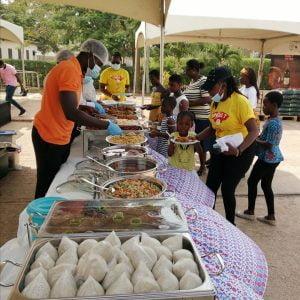 2021 New Year Festivities: TT Brothers fetes orphans of Tema SOS