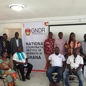 GNDR Ghana chapter holds national coordinating meeting for members