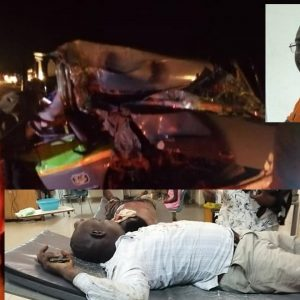 V/R: Human Rights Reporters Ghana Boss survives ghastly road accident